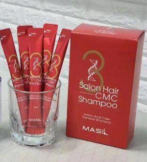 Шампунь с аминокислотным комплексом для волос Masil 3 Salon Hair CMC Shampoo