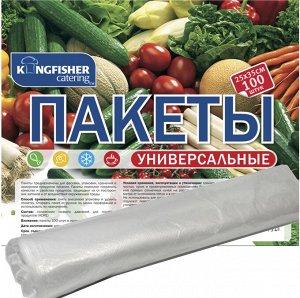 """Пакеты универсальные """"KINGFISHER"""", HDPE, размер - 25х35см, 100 штук в рулоне"""
