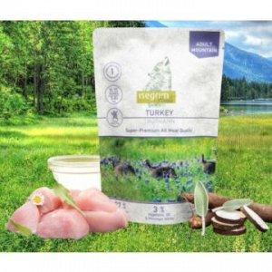 ISEGRIM Roots влажный корм для собак Индейка с овсяным корнем, подсолнечным маслом и горными травами 410гр