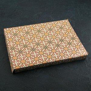 Блюдо сервировочное «Лист» 26х20х1,5 см