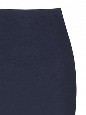 Юбка Rinas.cimento Цвет: Blu Navy 52%Cotton-40%Polyamide-8%Elastane