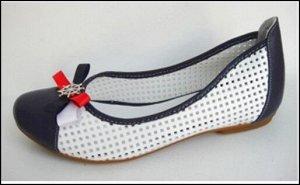 Туфли(балетки) летние из натуральной кожи