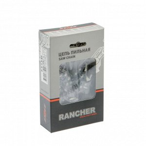 "Цепь для бензопилы Rezer Rancher P-9-1.3-57, 16"", 3/8"", 1.3 мм, 57 звеньев, Парма/Carver"