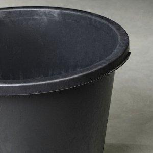Таз строительный круглый, 40 л, пластик