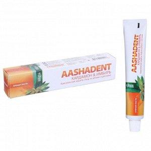 "Зубная паста Aasha Herbals, ""Кардамон - имбирь"", 100 г"