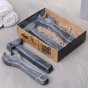Набор Hard man мыло ключ. мыло молоток