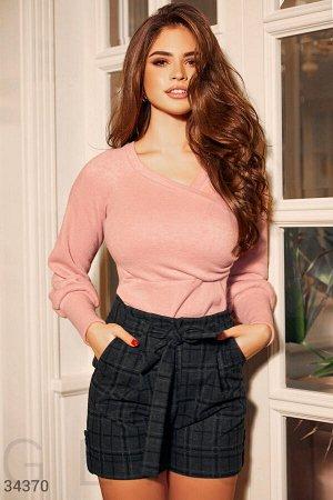 Трикотажный мягкий пуловер
