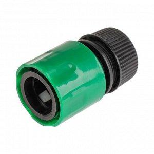 """Коннектор, 1/2"""" (12 мм), рр-пластик"""