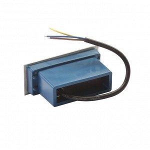 Светильник светодиодный грунтовый вытянутый Luazon 2 Вт,110х45х55 мм,IP65,220В, ЗЕЛЕНЫЙ