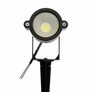 Светильник светодиодный грунтовый 5 Вт, 450 Лм, IP65, 6500 К, 220 В