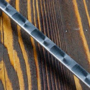 Шампур узбекский для шашлыка с деревянной ручкой 50 см