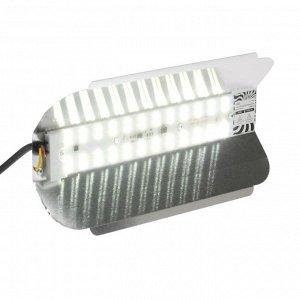 Прожектор светодиодный Luazon СДО08-50 бескорпусный, 50 Вт, 6500 К, 4500 Лм, IP65, 220 В