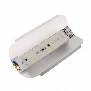 Прожектор светодиодный Luazon СДО07-50 бескорпусный, 50 Вт, 3500 К, 4500 Лм, IP65, 220 В