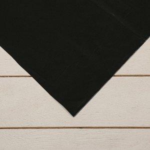 Плёнка полиэтиленовая, техническая, толщина 120 мкм, 3 ? 10 м, рукав (1,5 м ? 2), чёрная, 2 сорт, Эконом 50 %