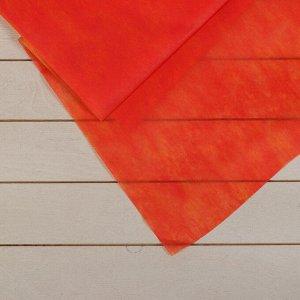 Материал укрывной, 5 ? 1,6 м, плотность 40, 2-слойный, с УФ-стабилизатором, жёлто-красный, «Агротекс»