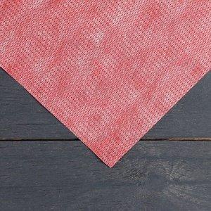 Материал укрывной, 5 ? 1,6 м, плотность 60, 2-слойный, с УФ-стабилизатором, бело-красный, «Агротекс»