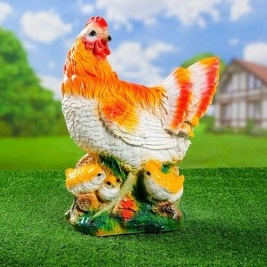 "Садовая фигура ""Курица"" 27*16*42 см F01212"