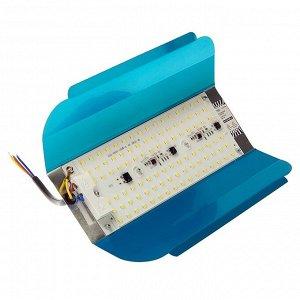 Прожектор светодиодный Luazon СДО08-100 бескорпусный, 100 Вт, 3500 К, 8000 Лм, IP65, 220 В