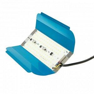 Прожектор светодиодный Luazon СДО07-100 бескорпусный, 100 Вт, 6500 К, 8000 Лм, IP65, 220 В