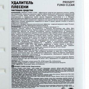 Удалитель плесени Prosept Fungi Clean. Концентрат, 1л