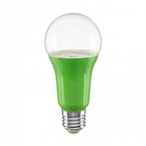 Лампа светодиодная для растений Uniel, А60, Е27, 15 Вт, спектр для рассады и цветения