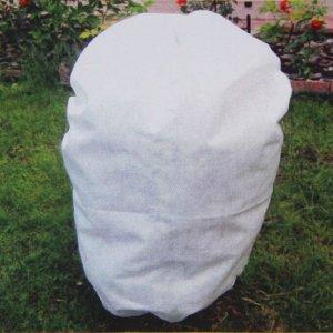 Чехол для растений, прямоугольный на шнурках, 160 ? 90 см, спанбонд с УФ-стабилизатором, плотность 42 г/м?, набор 2 шт., цвет белый