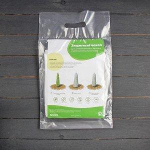 Чехол для растений, конус на завязках, 100 ? 89 см, спанбонд с УФ-стабилизатором, плотность 60 г/м?, набор 2 шт., белый