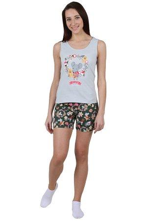 Пижама Мышонок Цвет: Серый. Производитель: Оптима Трикотаж