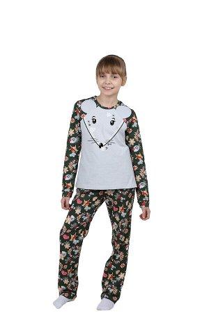 Детская пижама Мышонок Цвет: Серый. Производитель: Оптима Трикотаж