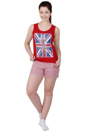Пижама Лондон Цвет: Бордовый. Производитель: Оптима Трикотаж