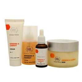 Holy Land  косметический уход для любого типа кожи   — Женьшень и морковь-обновление кожи — Для лица