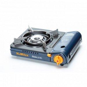 Газовая плита NaMilux NA-199PF/2W темно-синий