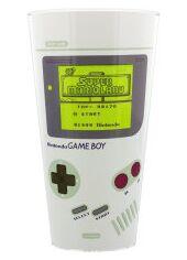 Стеклянный стакан с меняющимся рисунком Game Boy