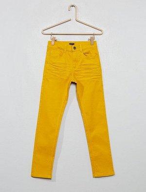 Облегающие брюки с пятью карманами