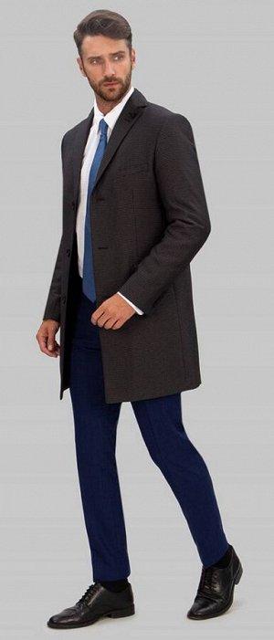 2053У-1 S OLSEN BLACK GREY/ Пальто мужское