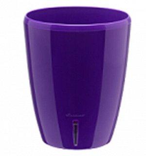 """Вазон двойной """"ORCHIDEA TWIN"""" 2,0 л. Фиолетовый"""