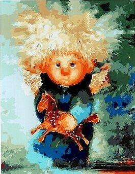 Хобби и творчество. Взрослым и детям. Низкие цены!ЭКСПРЕСС — Картины по номерам Paintboy - 30*40 см — Живопись по номерам