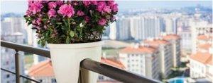 Балконный ящик на перила ВипСет зеленый, 7,5 л