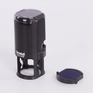 Оснастка для печати, оттиск D=30 ммм, синий, TRODAT 4630 PRINTY 4.0, подушка в комплекте, 80357