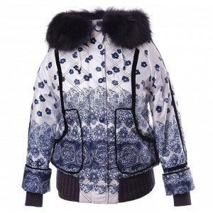 Куртка женская с натуральным мехом, PLIST (Россия)