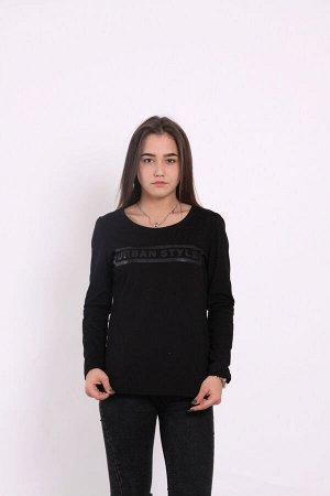 Лонгслив женский 1321-013 черный