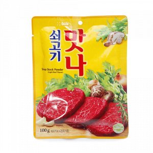 Приправа вкусовая Манна со вкусом говядины (дасида) 100 гр