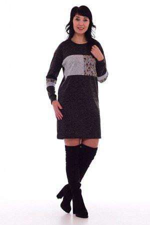 *Платье женское Ф-1-52а (серый)