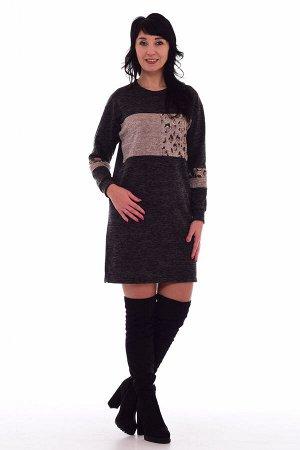*Платье женское Ф-1-52 (шоколад)