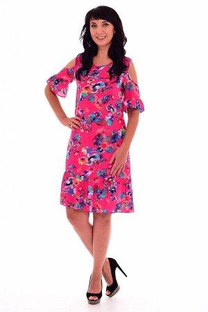 *Платье женское Ф-1-03в Жизель (малина)