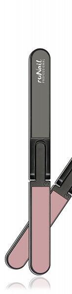 Пилка для натуральных ногтей (четырехсторонняя, складная, 80/150/400/320), RU-0614