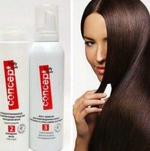 ★CONCEPT★ Средства для волос по выгодной цене! New!-55 — ЛАМИНИРОВАНИЕ ВОЛОС! Идеально гладкие и защищенные! — Для волос