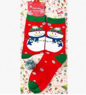 Носочки Носочки хорошее дополнение к подарку, теплые и оригинальные порадуют любого. Размер один 36-39