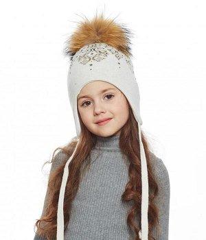 Очень качественная шапка с натуральным мехом