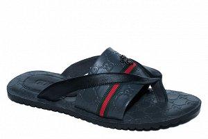 Тапочки Обувь мужская Материал: натуральная кожа
